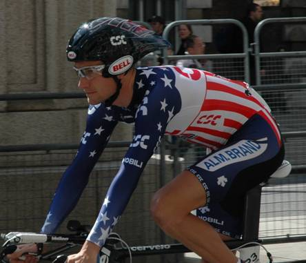 David Zabriskie, Prologen til Tour de France 2007 i London