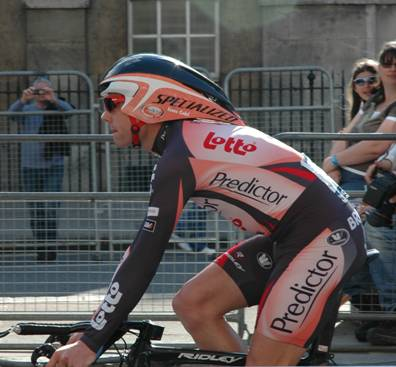 Cadel Evans, Prologen til Tour de France 2007 i London